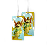 Travel Guardian Angel Luggage Bag Tag Set - 2 pc, Large by 11:11 Enterprises