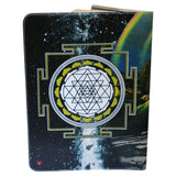 Zebra Magic Sri Yantra Moleskine Cahier Extra Large Notebook