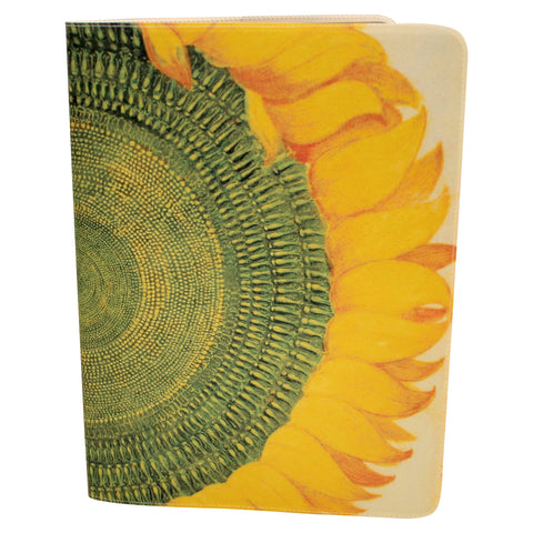 Sunflower Journal (Diary, Notebook) w/ Extra Large Moleskine Cahier Cover