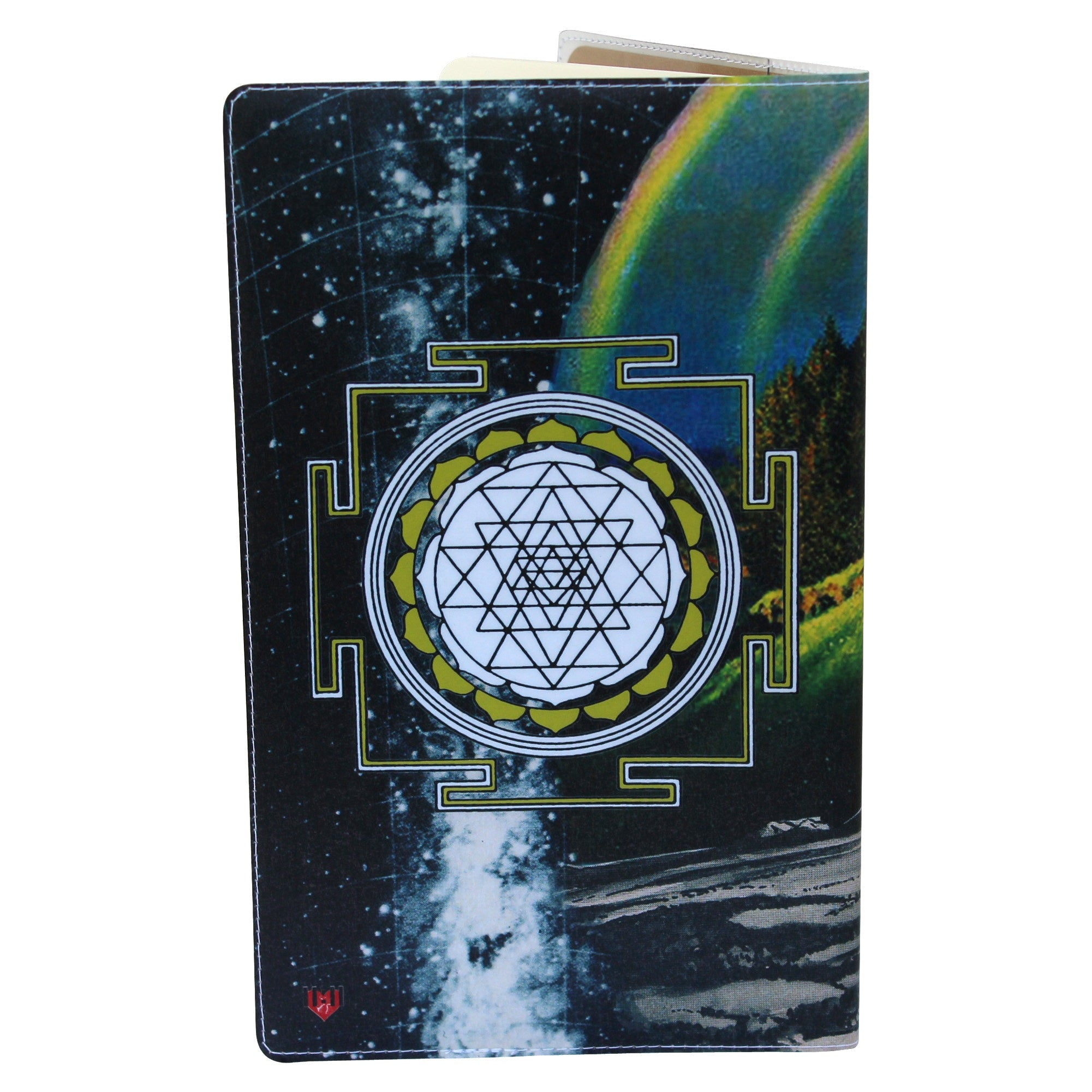 Zebra Magic Sri Yantra Moleskine Cahier Large Notebook