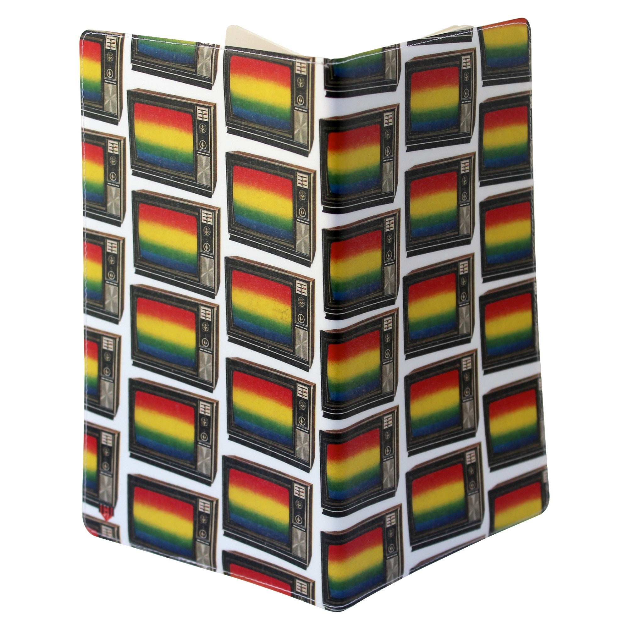 TV Rainbow Moleskine Cahier Large Notebook