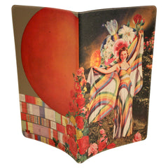 Rainbow Goddess Journal (Diary, Notebook) w/ Large Moleskine Cahier Cover
