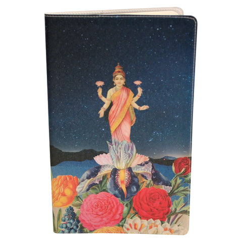 Cosmic Water Ski Moleskine Cahier, Large Notebook Cover
