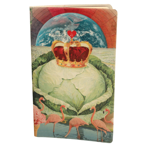 Royal Cabbage Love Journal (Diary, Notebook) w/ Large Moleskine Cahier Cover