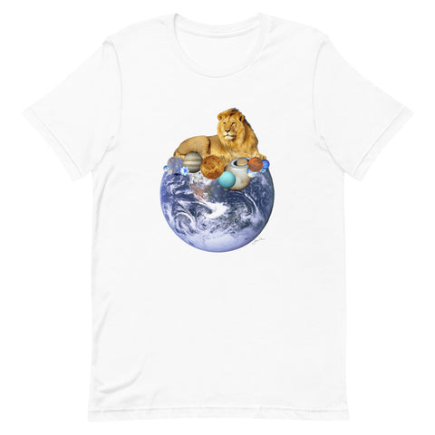 Lion Energy by Jamila Starwater // Short-Sleeve Unisex T-Shirt
