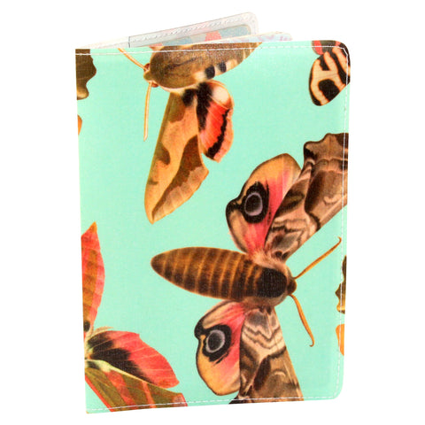 Fancy Magical Moth Passport Holder