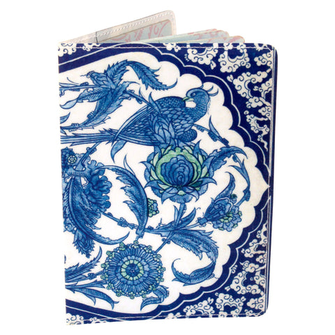 Exotic Birds of Paradise Travel Passport Holder