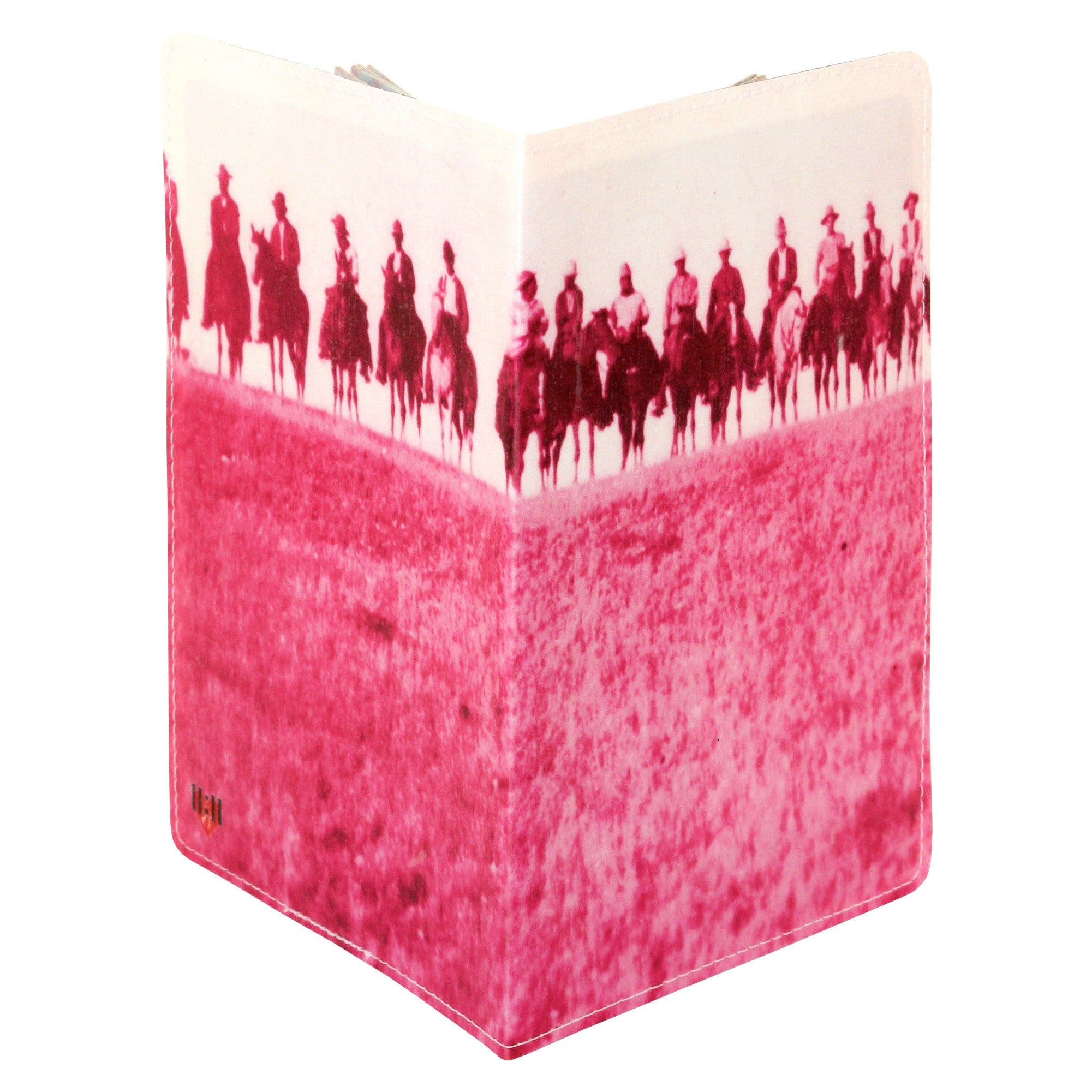 Pink Wild West Cowboy Passport Holder