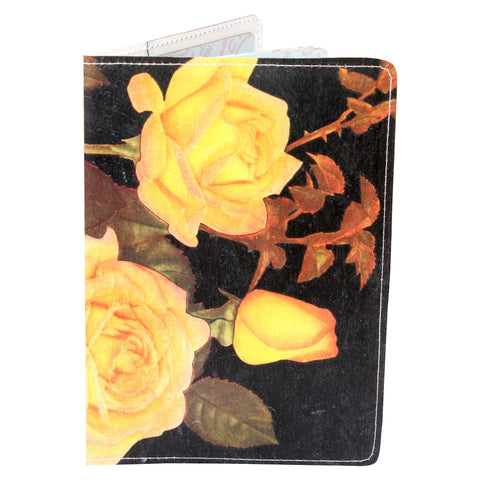 Peace Rose Travel Passport Holder