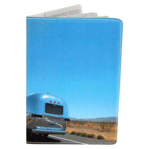On The Road Again Airstream  Travel Passport Holder