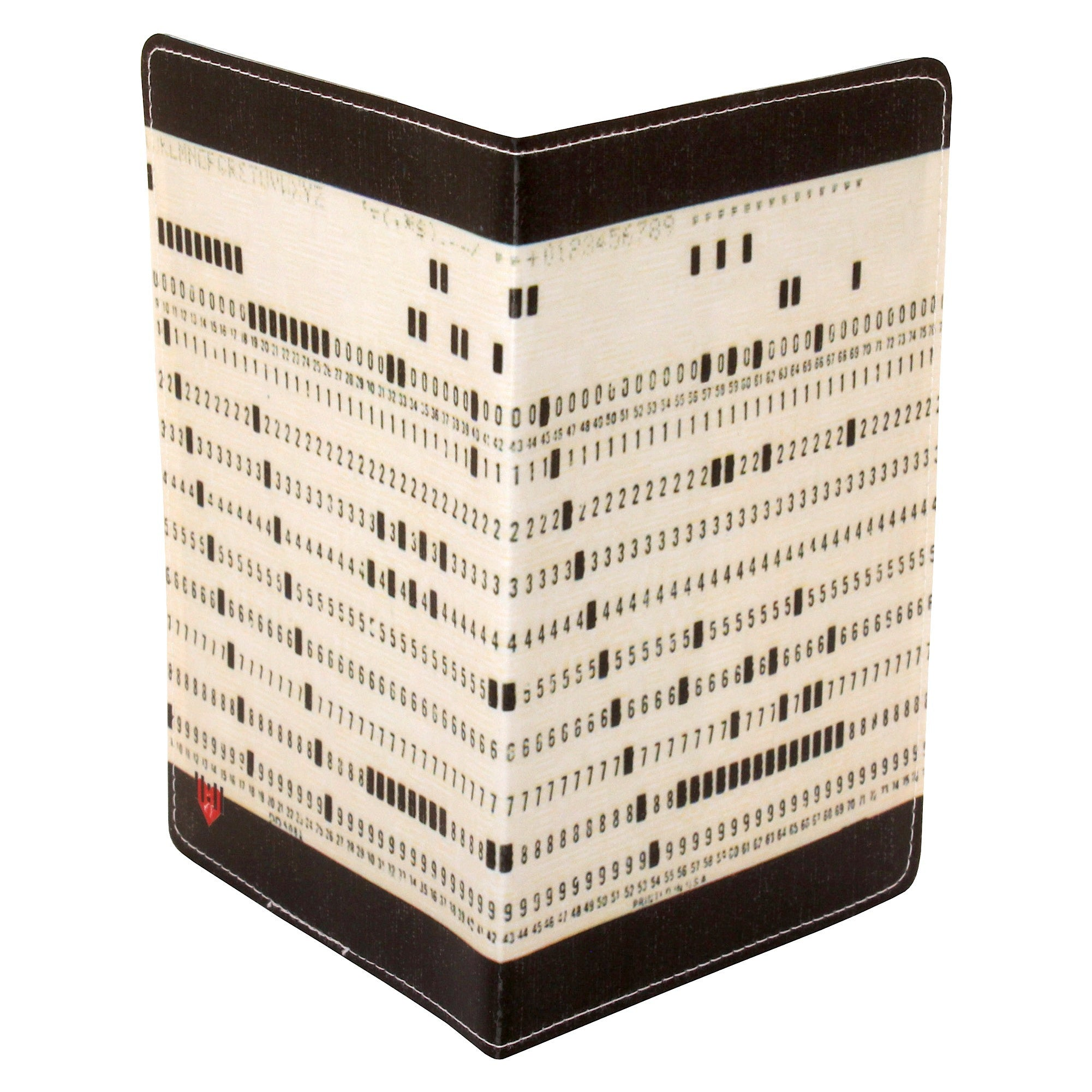 Computer Punch Card Travel Passport Holder