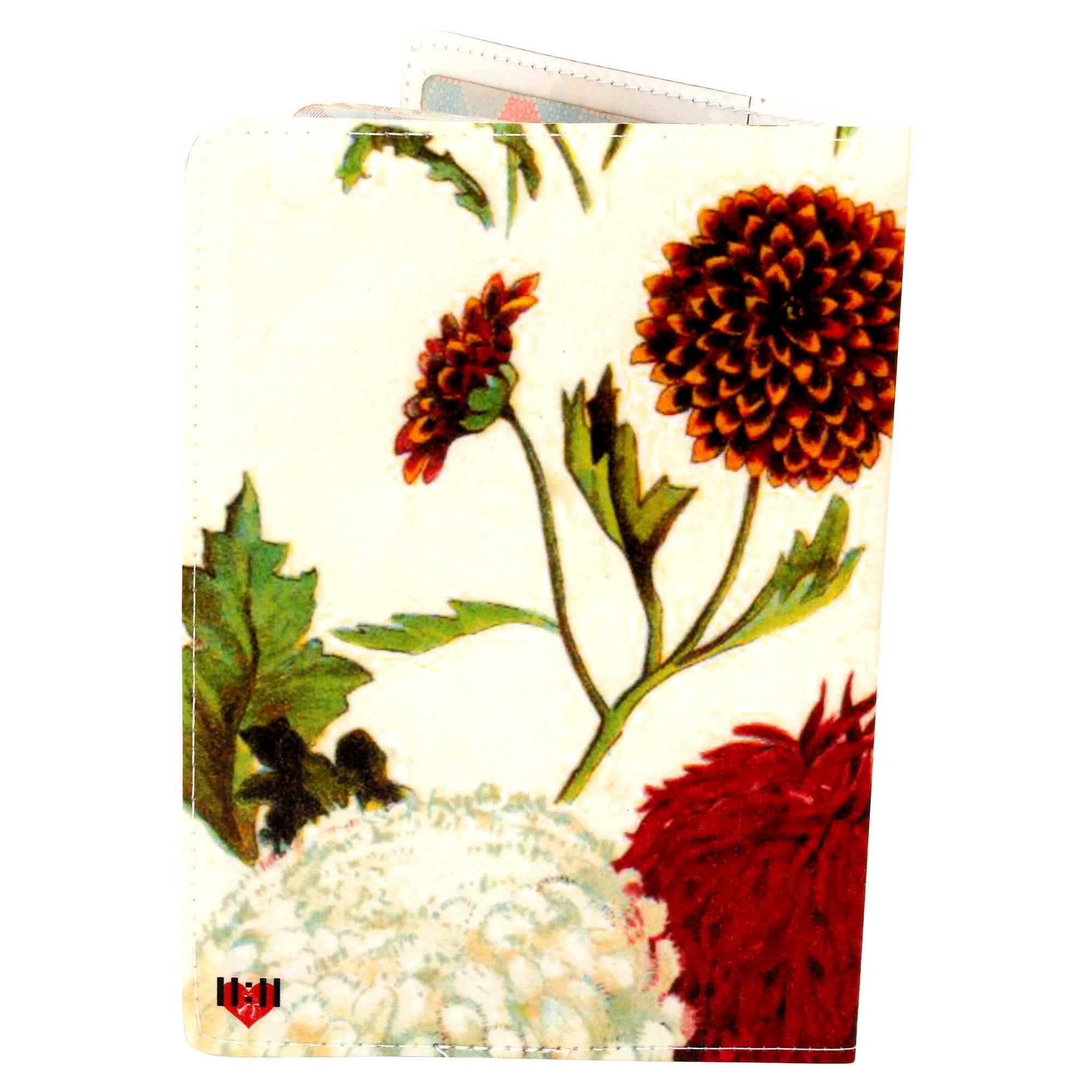 Chrysanthemum Travel Passport Holder