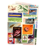 Flying Stamps Travel Passport Holder