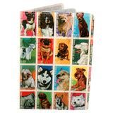 Dog Stamps Travel Passport Holder