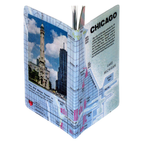 Chicago Map Covered Moleskine Notebook