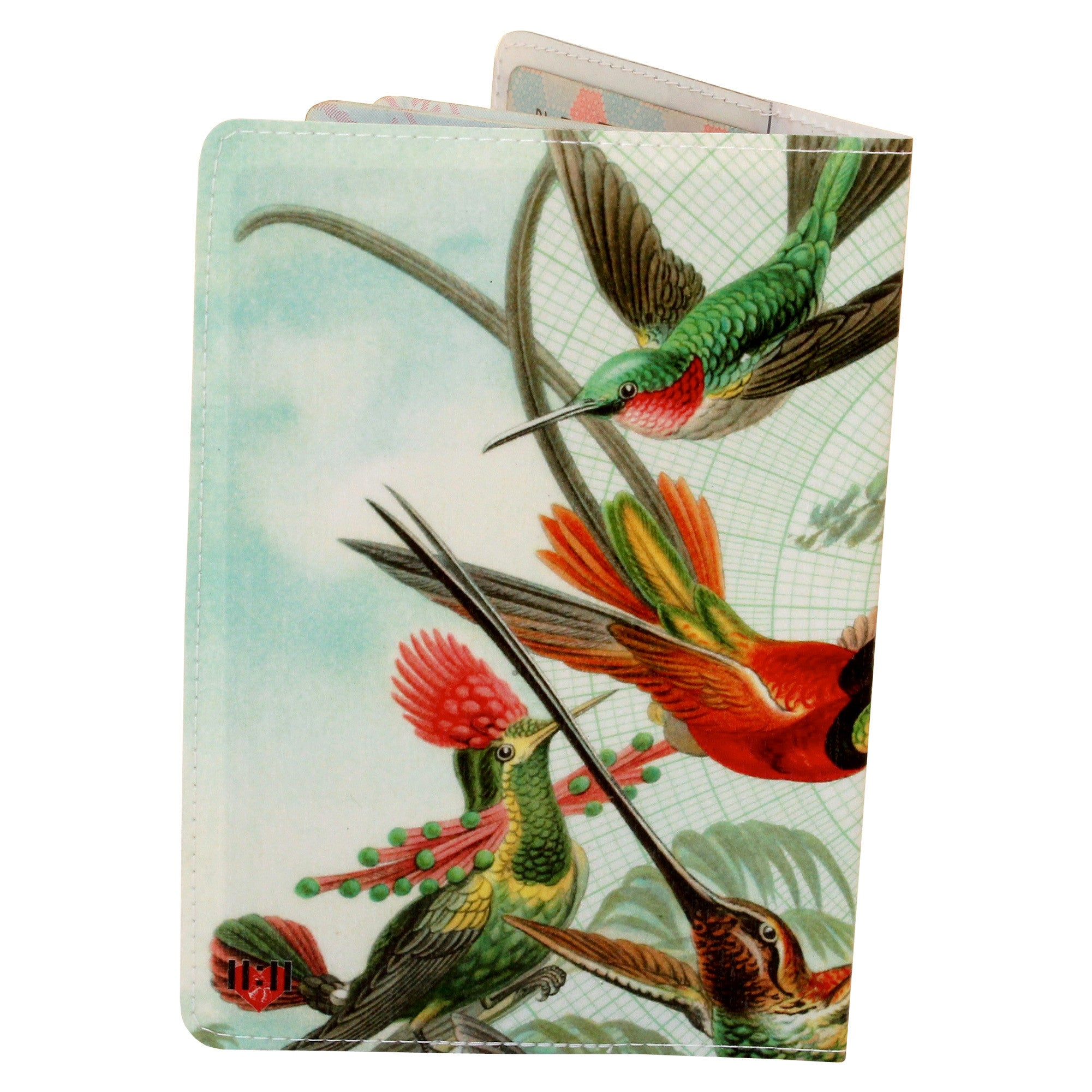 Beautiful Hummingbirds Passport Holder