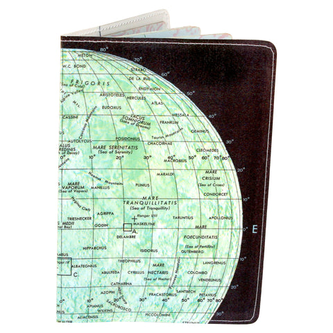 The Moon Map Passport Holder
