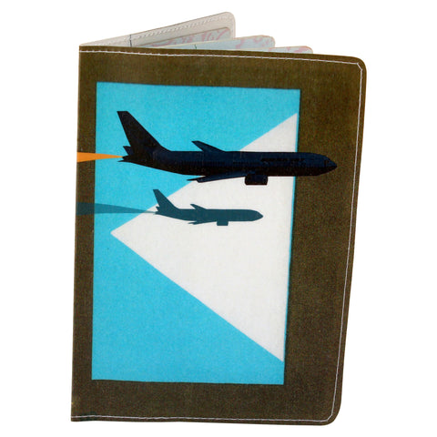 Airplane Jet Passport Holder