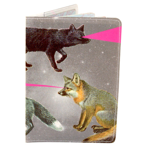 Foxy Lasers Passport Holder