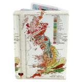 Great Britain Map Passport Holder