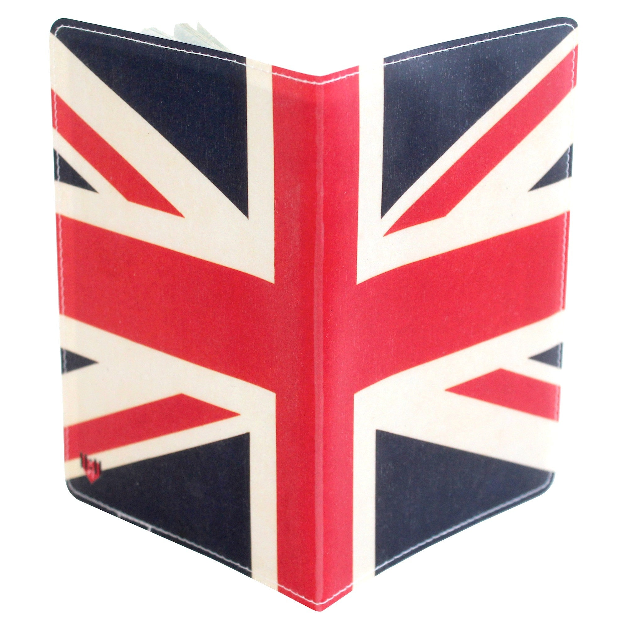 Union Jack British Flag Passport Holder