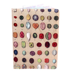 Precious Gems Passport Holder