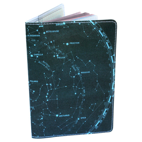 Milky Way Galaxy Passport Holder