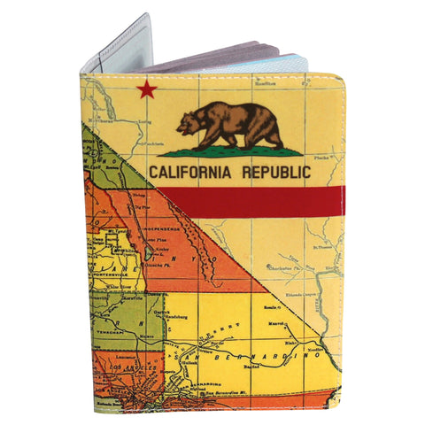 California State Flag Passport Holder
