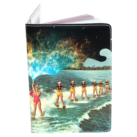 Cosmic Water Ski Passport Holder