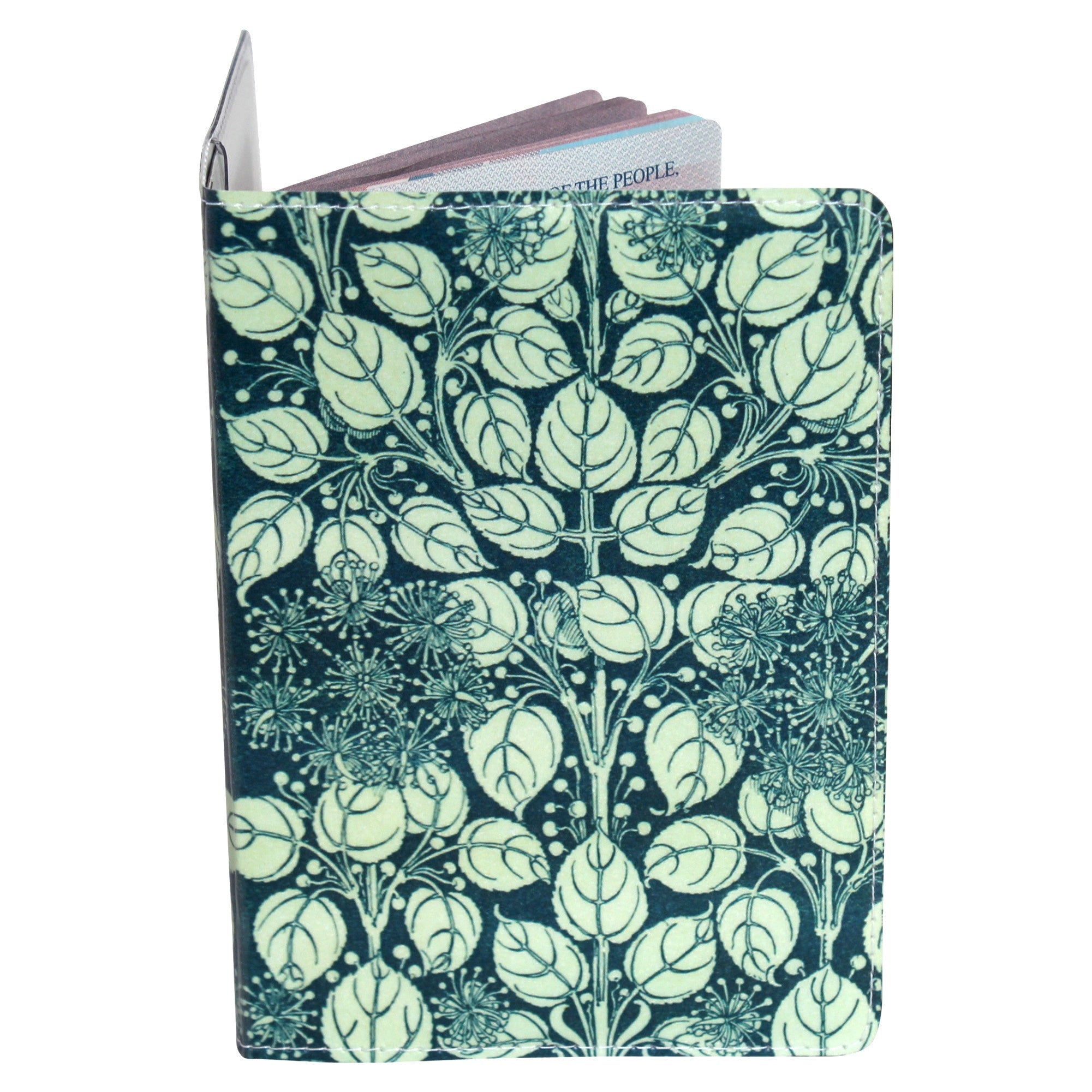 Floral Beauty Passport Holder