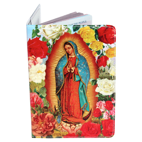 Virgin Mary Passport Holder