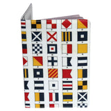 Nautical Flags Passport Holder