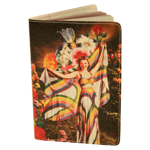 Rainbow Goddess Passport Holder