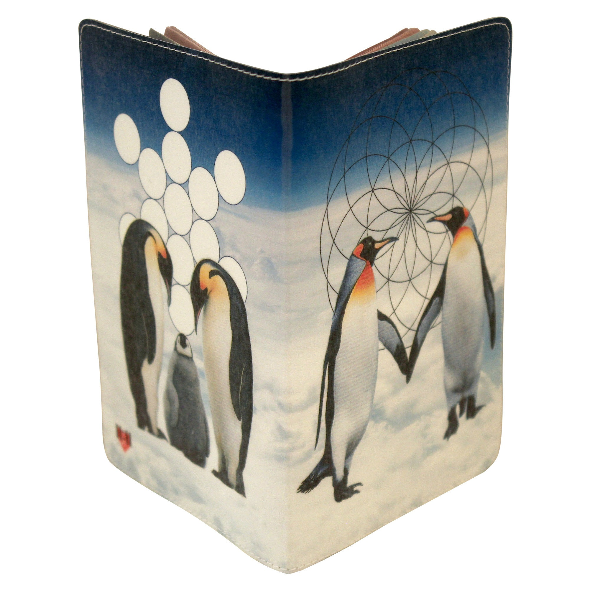 Penguin Love Passport Holder