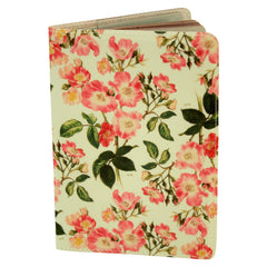 Pink Roses Passport Holder