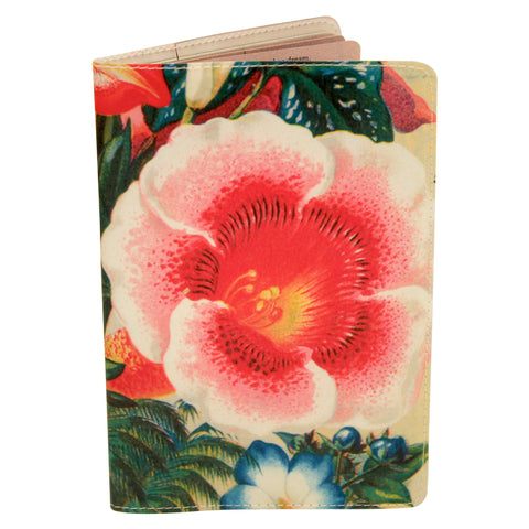 Flower Joy Club Passport Holder