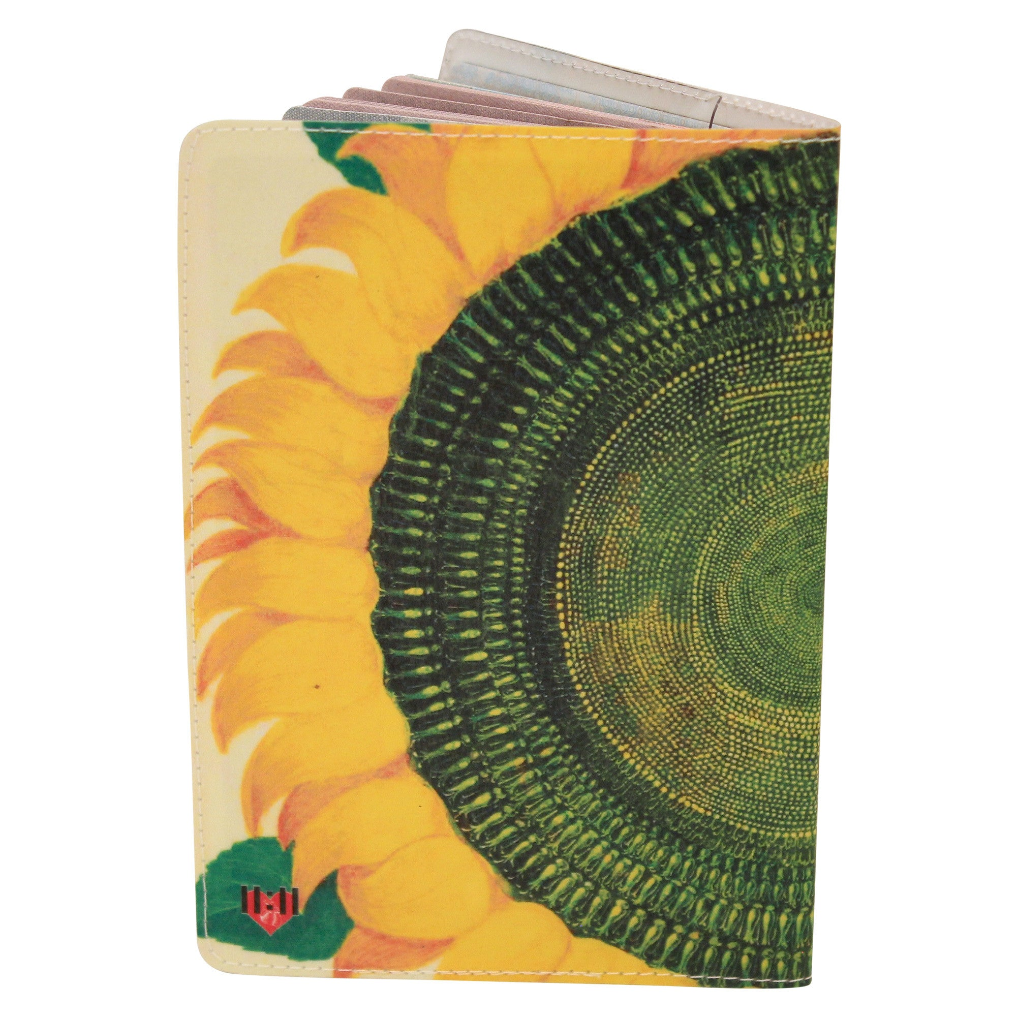 Sunflower Passport Holder
