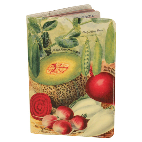 Heirloom Vegetables Passport Holder