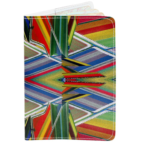 Flower Fields Travel Passport Holder