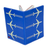 Airplanes Travel Passport Holder