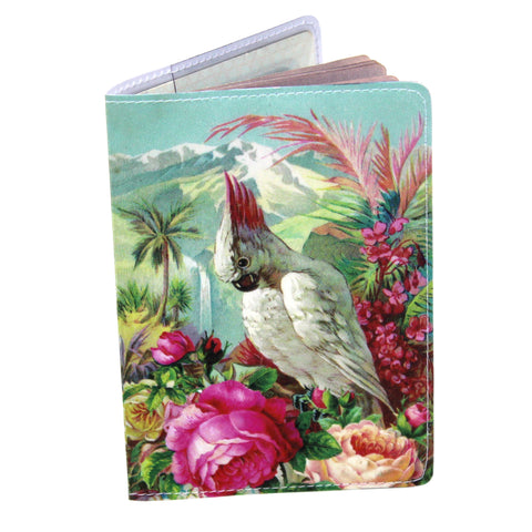 Vacation Bird Travel Passport Holder