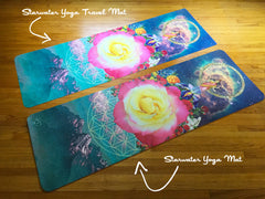 Lakshmi Rose Portal * Starwater TRAVEL Yoga Mat