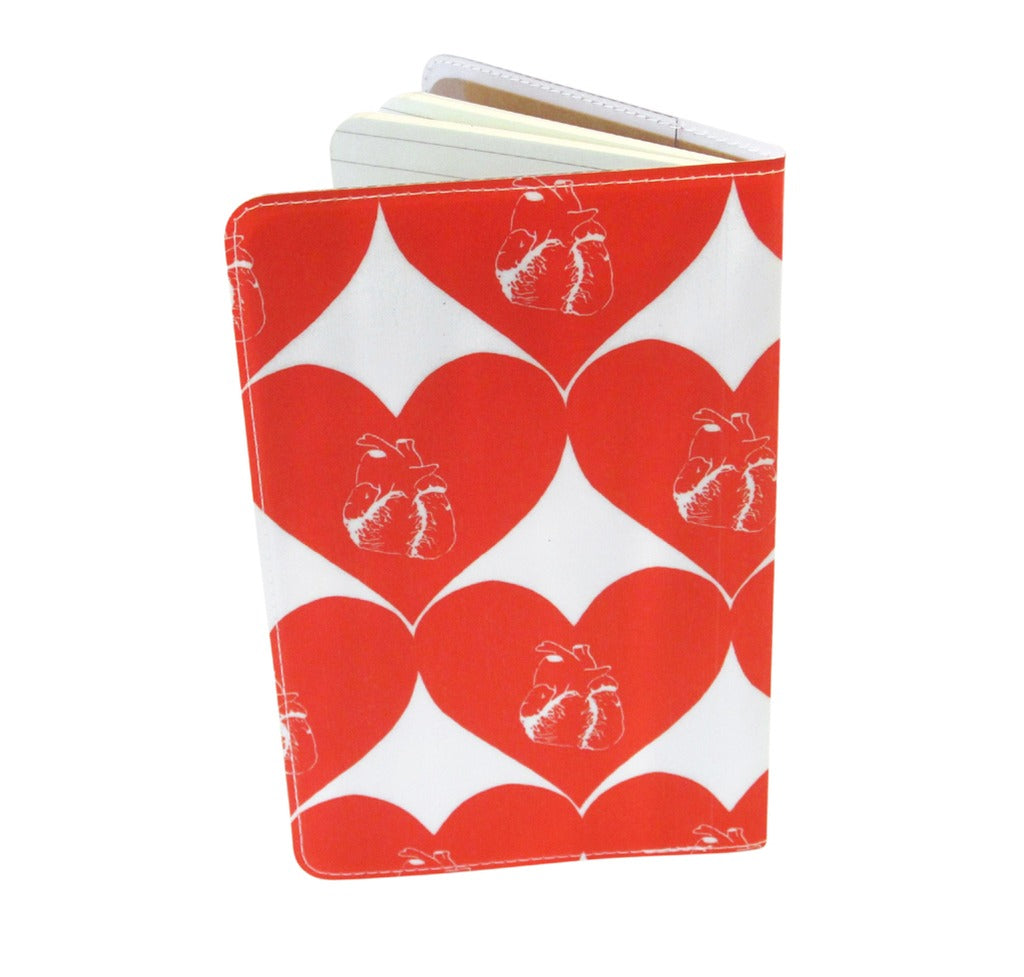 Beating Hearts Covered Moleskine Notebook