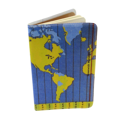 Time Zone Covered Moleskine Notebook
