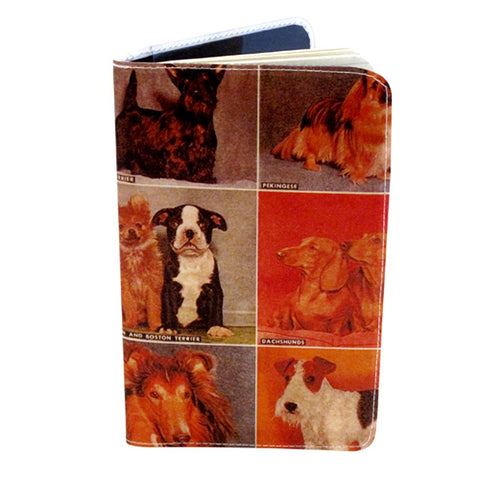 Vintage Dogs Covered Moleskine Notebook
