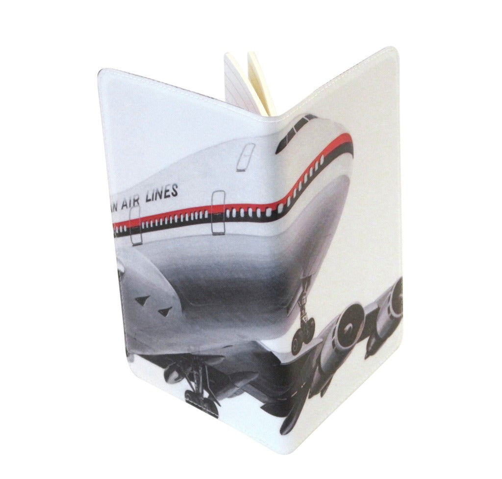 Jet Airliner Covered Moleskine Notebook