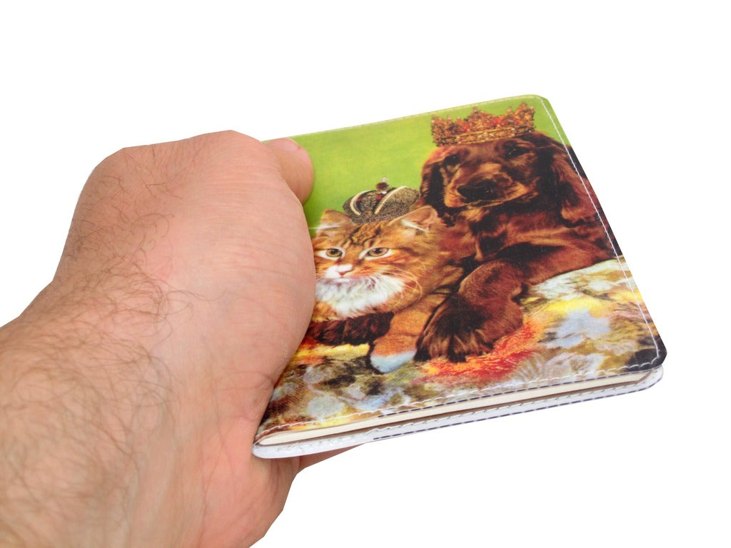 Royal Cat and Dog Covered Moleskine Notebook