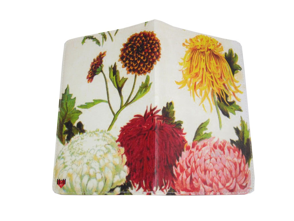 Chrysanthemum Covered Moleskine Notebook