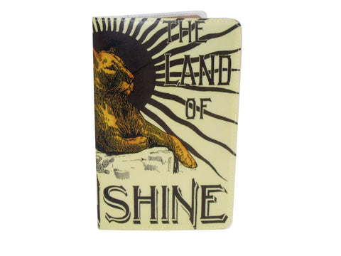 Sunshine Lion Covered Moleskine Notebook