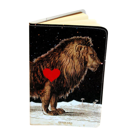 Starry Leo Lionheart Small Moleskine Notebook Cover